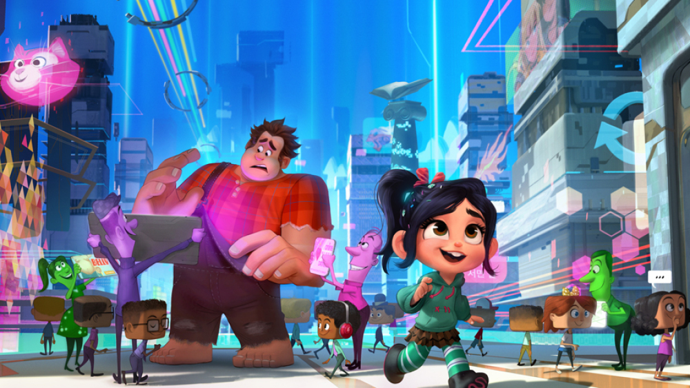 Wreck-It Ralph 2 - 3 5 Gavels 87% Rotten Tomatoes - The
